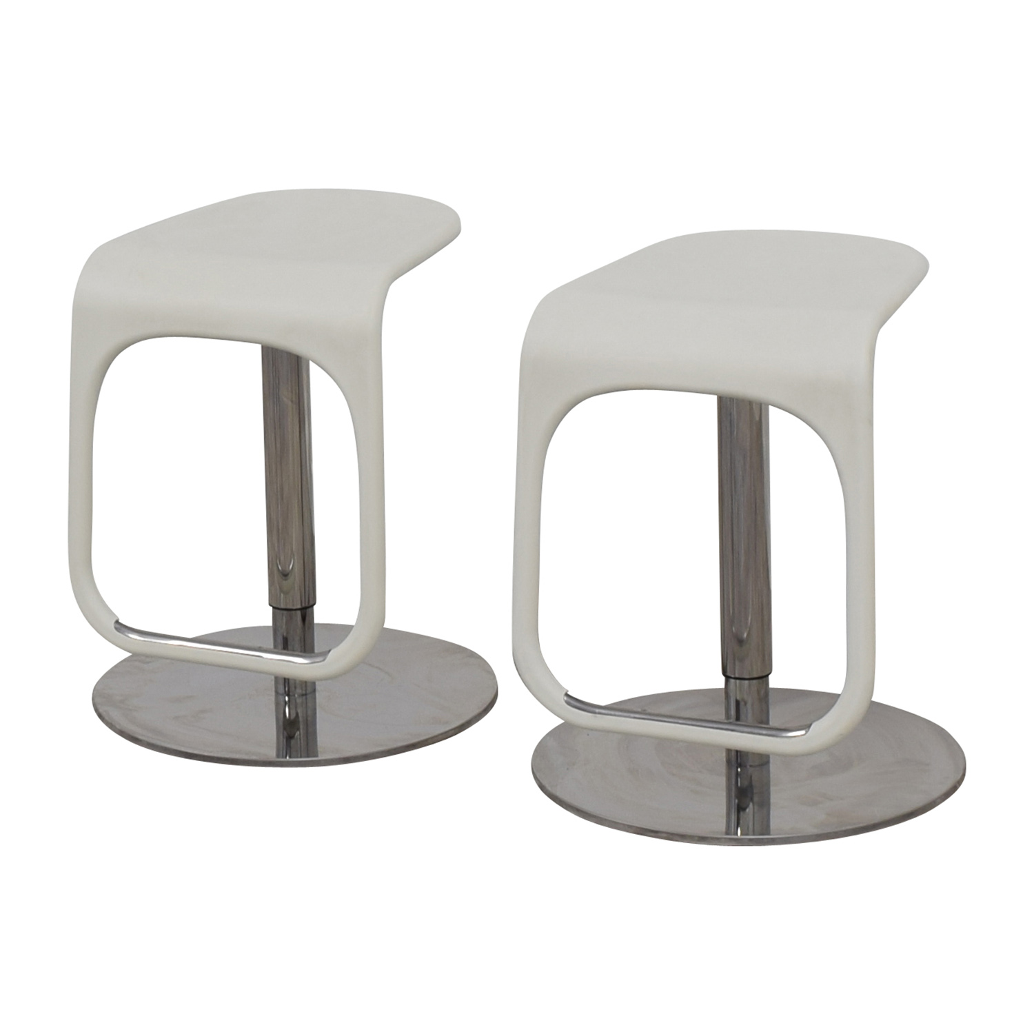 58 off ikea ikea white modern bar stools chairs. Black Bedroom Furniture Sets. Home Design Ideas