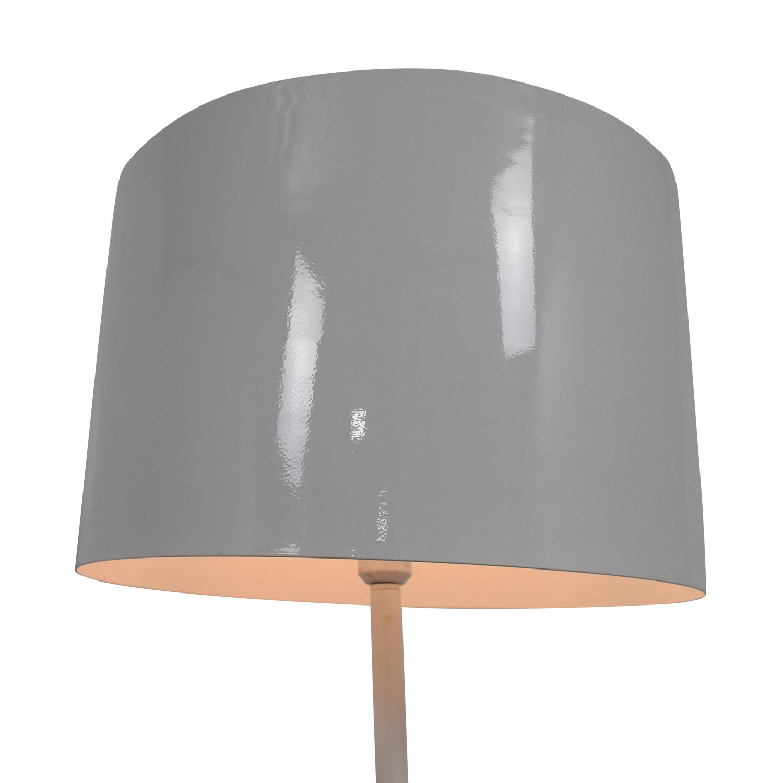 Modem White Floor Lamp on sale