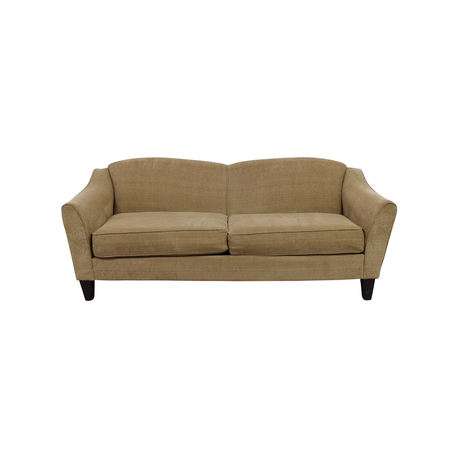 shop Bobs Furniture Tessa Beige Sofa Bobs Furniture Classic Sofas