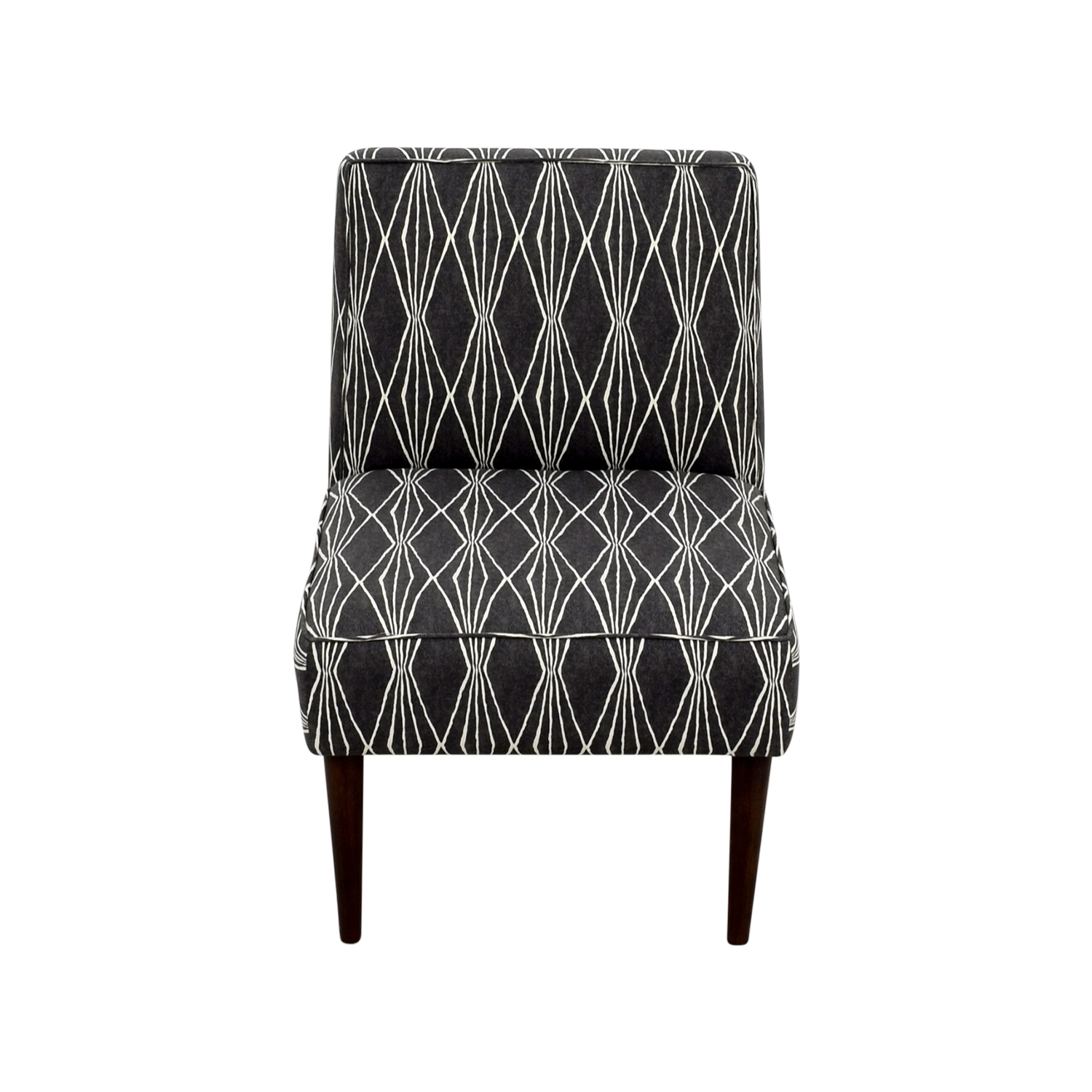 Macys Macys Palmdale Handcut Shapes Fabric Accent Chair nj