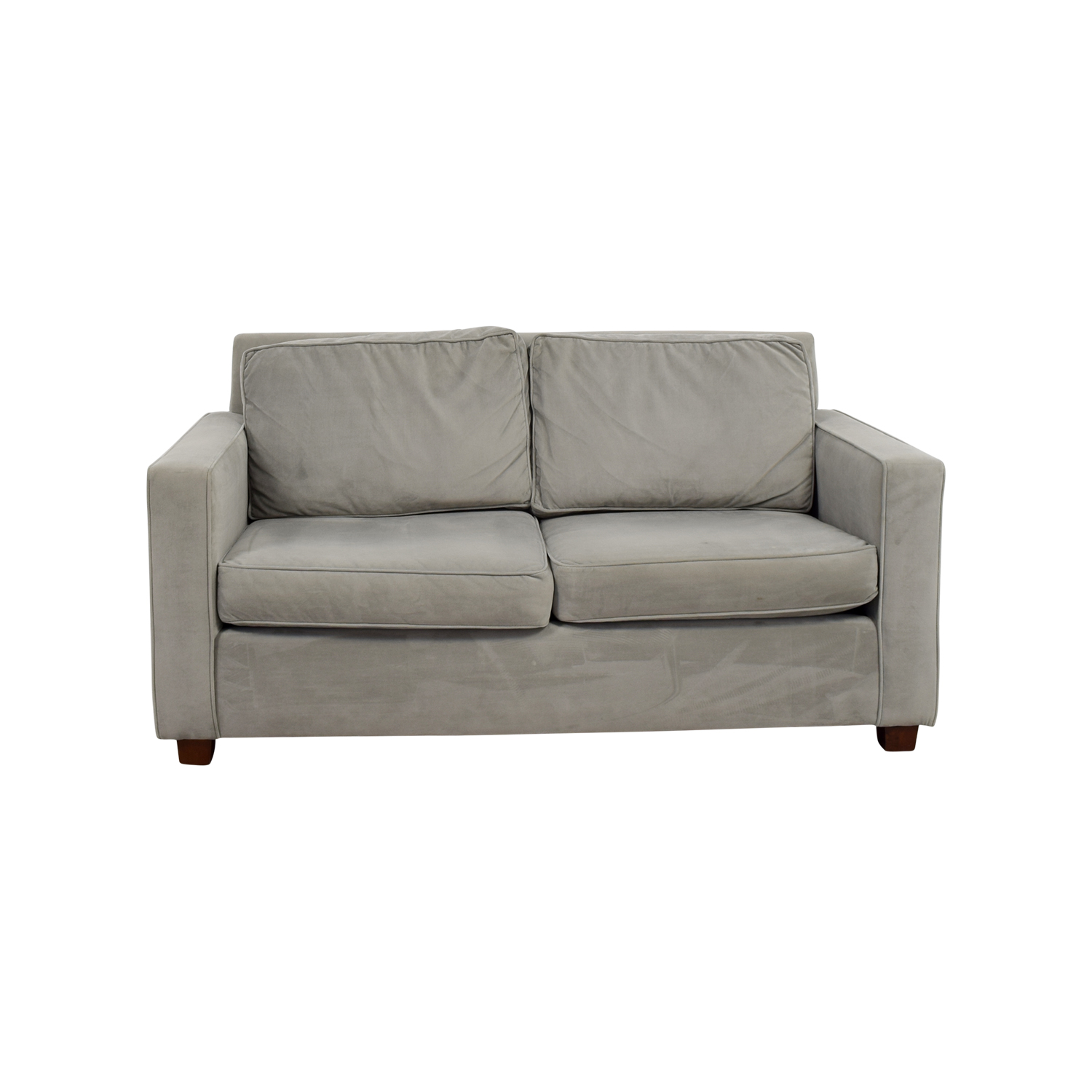 buy West Elm West Elm Henry Grey Loveseat online
