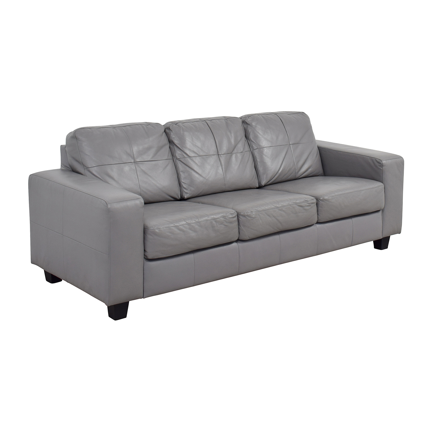 41 off ikea ikea skogaby sofa in light grey sofas for Ikea gray sofa