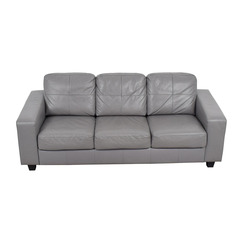 ... IKEA IKEA Skogaby Sofa In Light Grey Discount ...