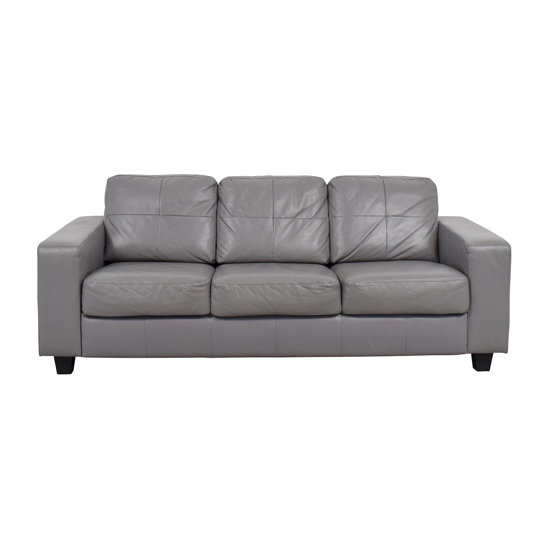 41% OFF   IKEA IKEA Skogaby Sofa In Light Grey / Sofas