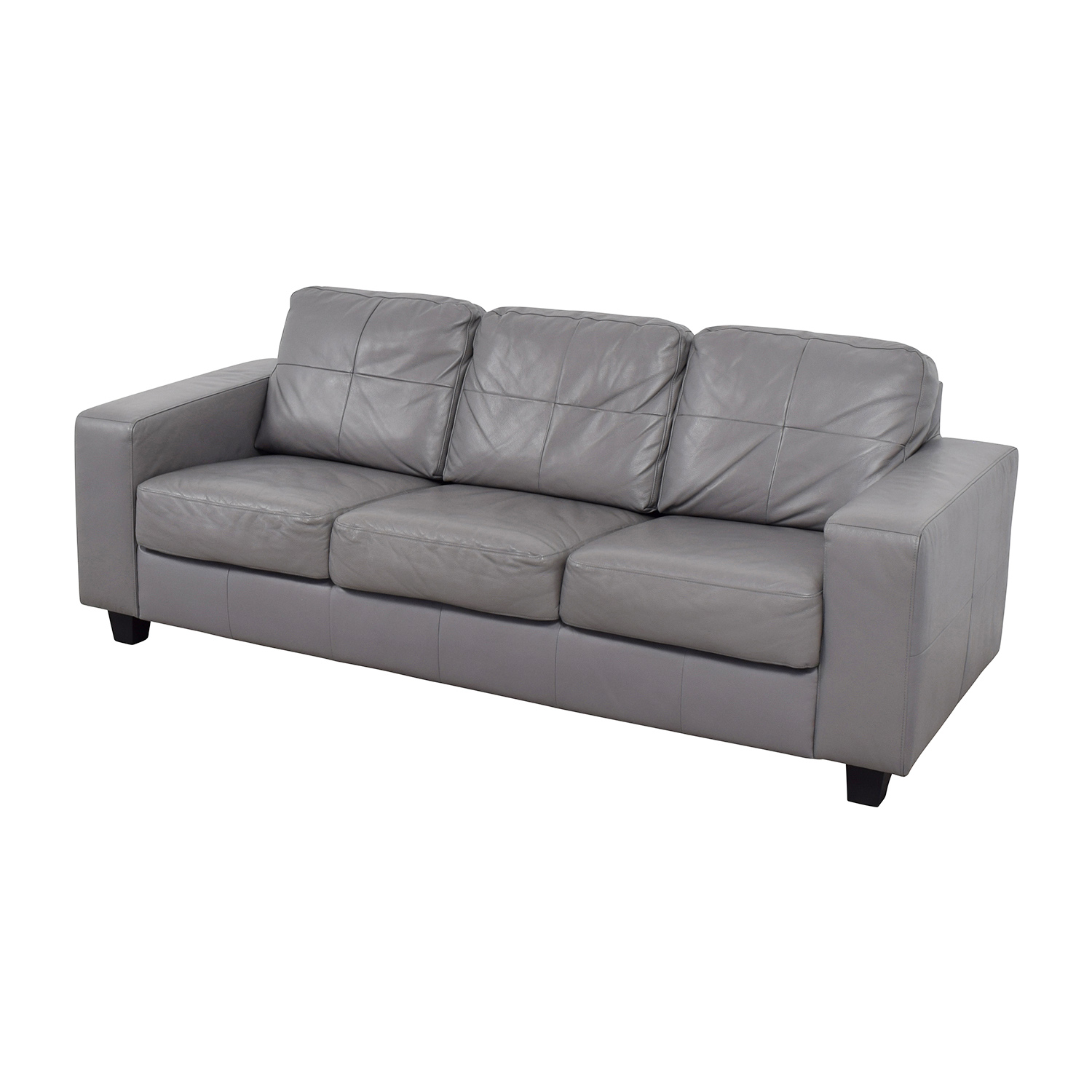 41 off ikea ikea skogaby sofa in light grey sofas. Black Bedroom Furniture Sets. Home Design Ideas