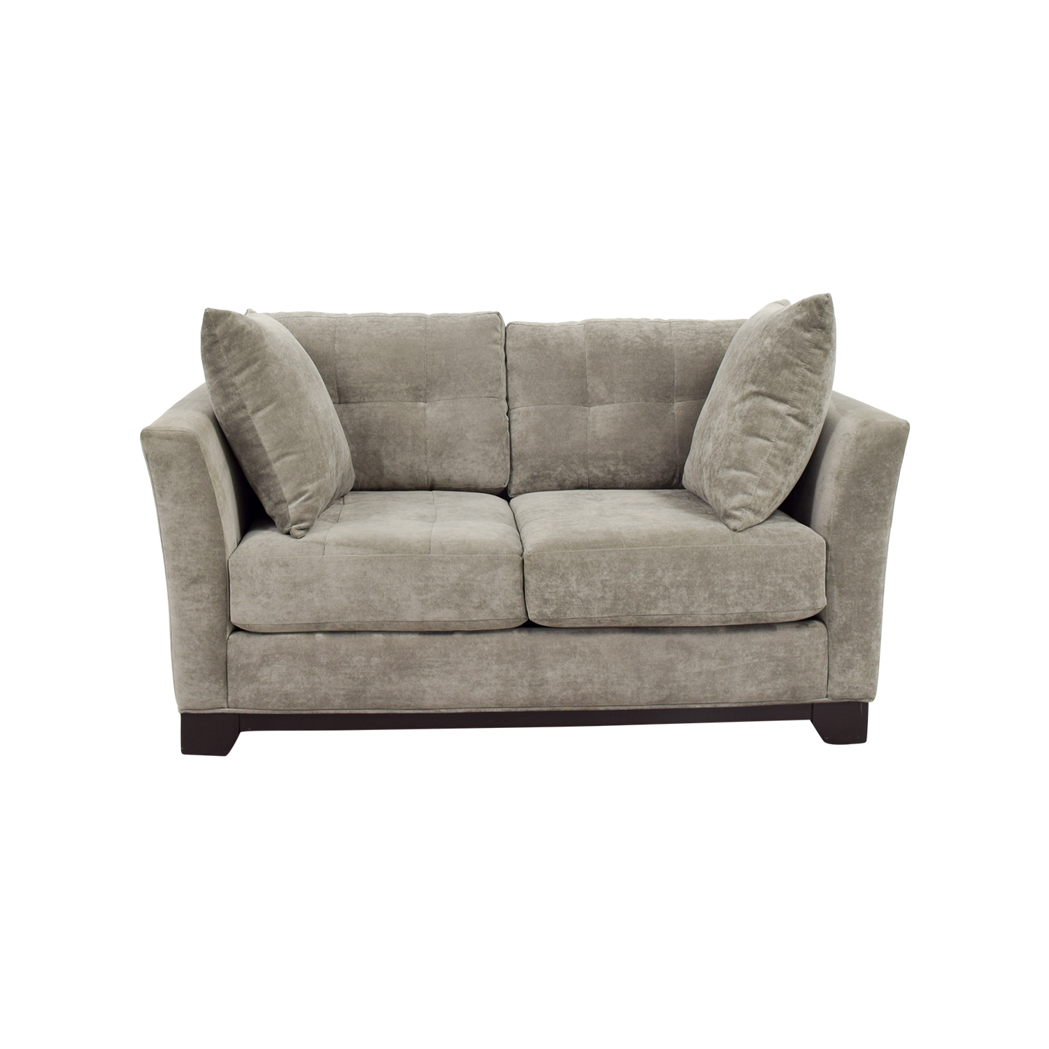 Macys Macys Elliot Microfiber Tugfted Loveseat nj