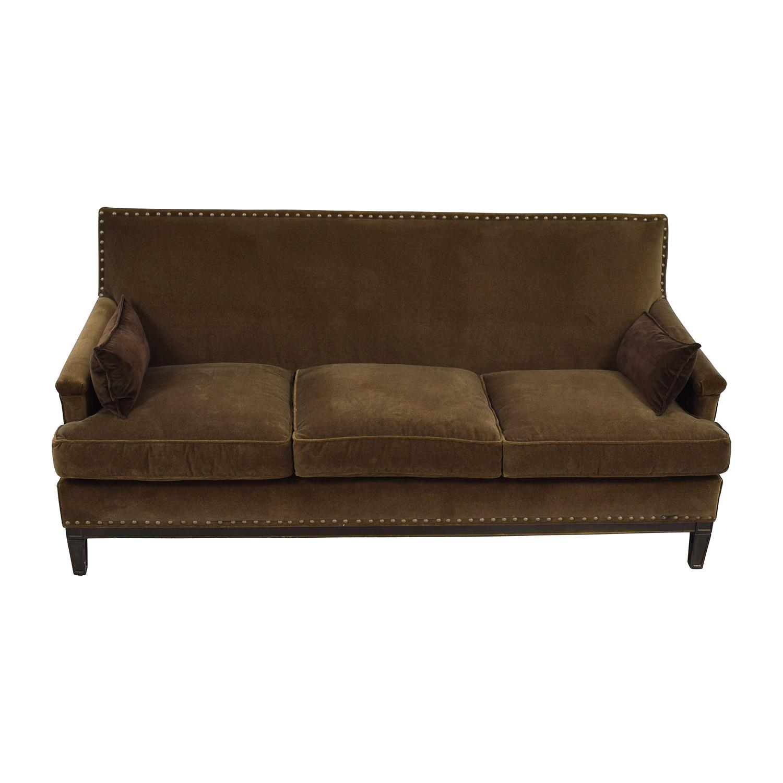 Robin Bruce Robin Bruce Simone Brown Sofa price