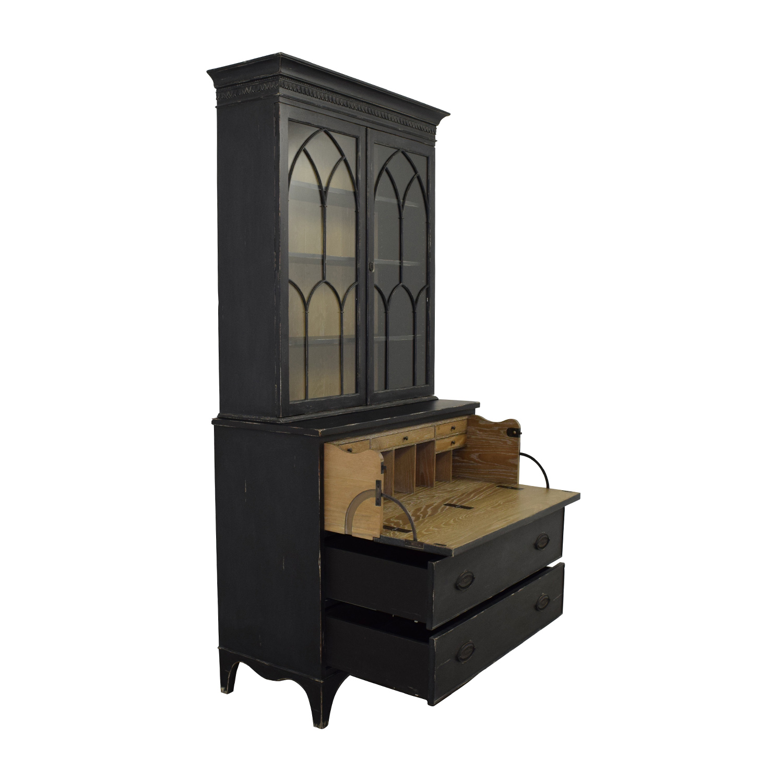 84 off arhaus furniture arhaus cabinet in black storage for Arhaus furniture
