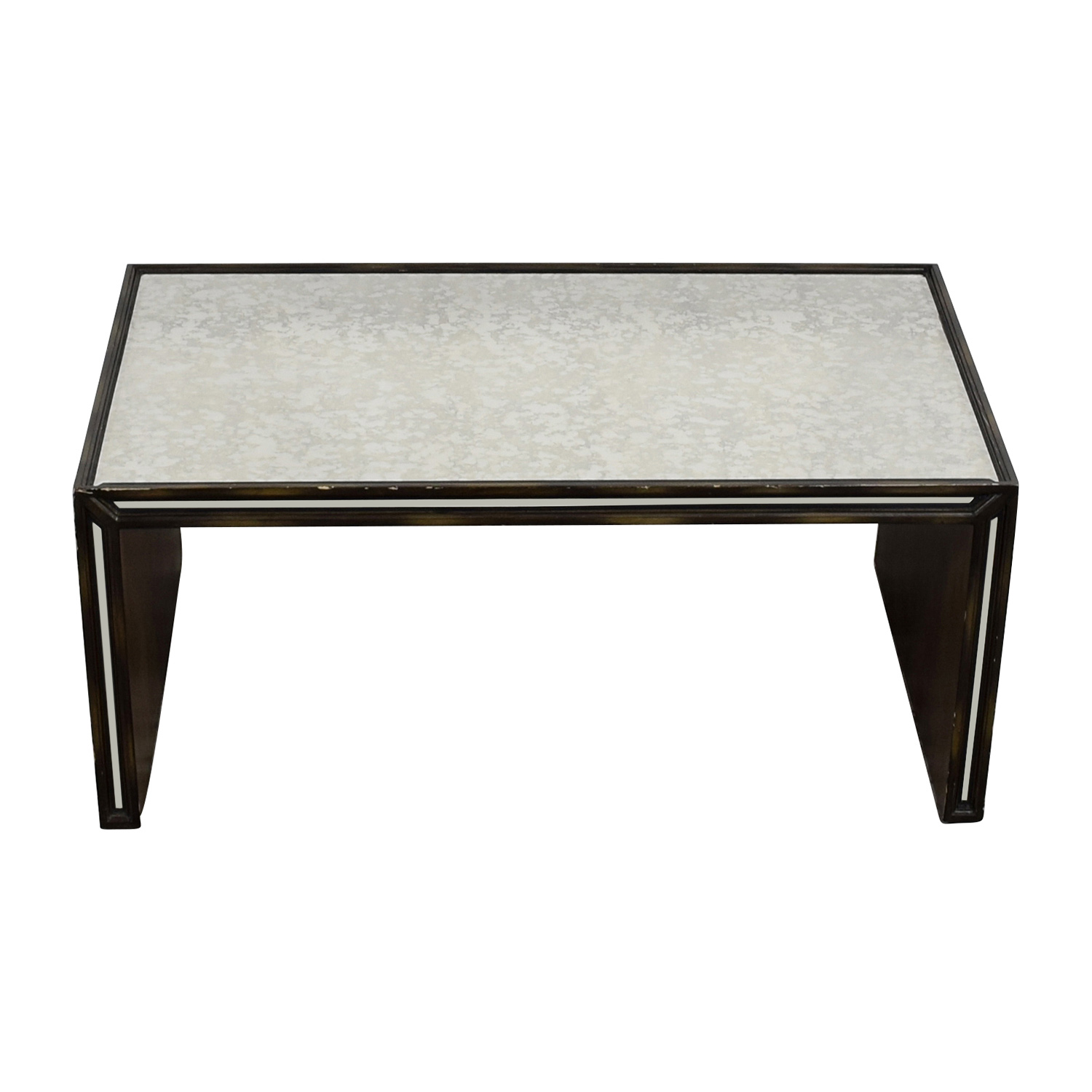 Arhaus Furniture Mirrored Coffee Table Tables