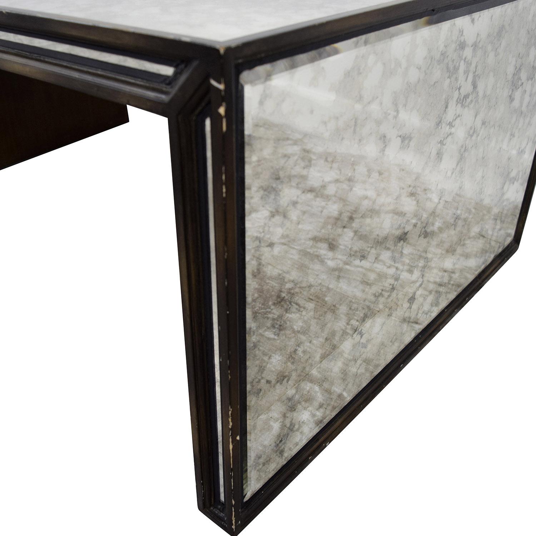 78% OFF Arhaus Furniture Arhaus Mirrored Coffee Table Tables