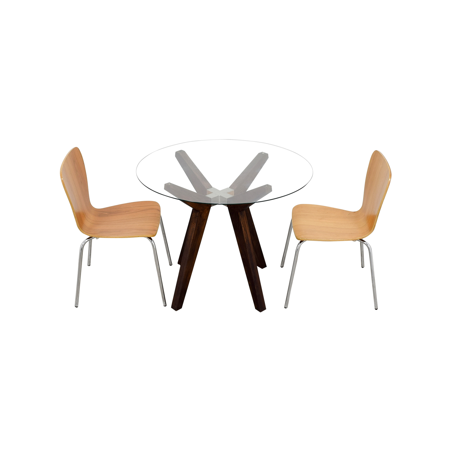 buy Crate & Barrel Crate & Barrel Strut Round Dining Table Set online