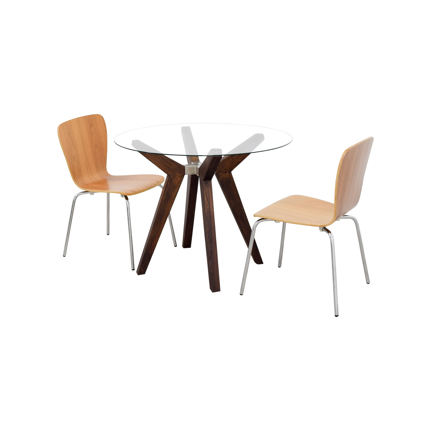 57% OFF Crate & Barrel Crate & Barrel Strut Round Dining Table