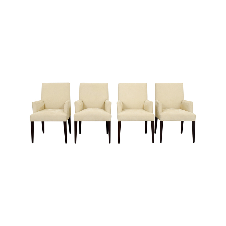 shop Crate & Barrel Miles Dining Chairs Crate & Barrel