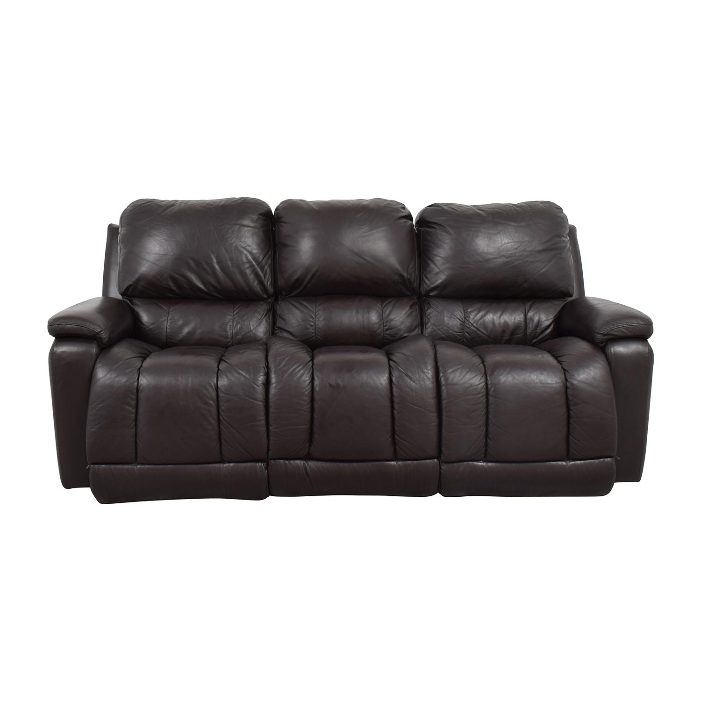 Wondrous 77 Off La Z Boy La Z Boy Brown Leather Reclining Sofa Sofas Machost Co Dining Chair Design Ideas Machostcouk