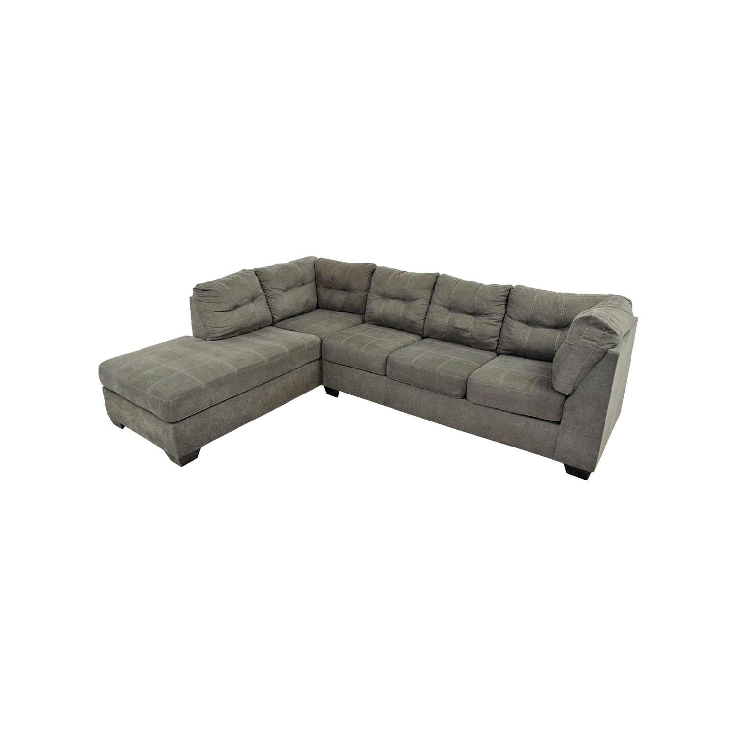 Mercury Row Cornett Charcoal Sectional Mercury Row