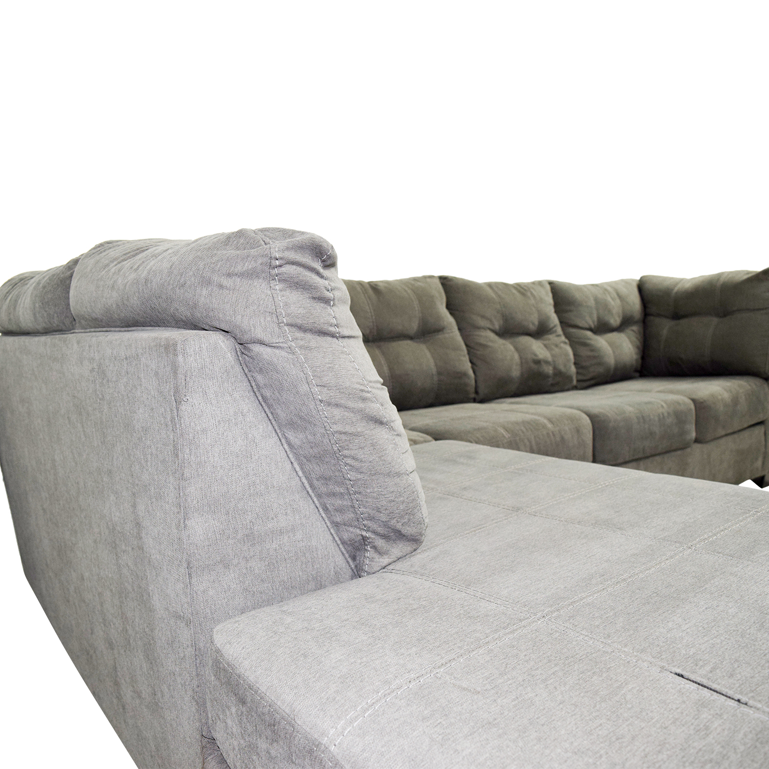 shop Mercury Row Cornett Charcoal Sectional Mercury Row Sofas