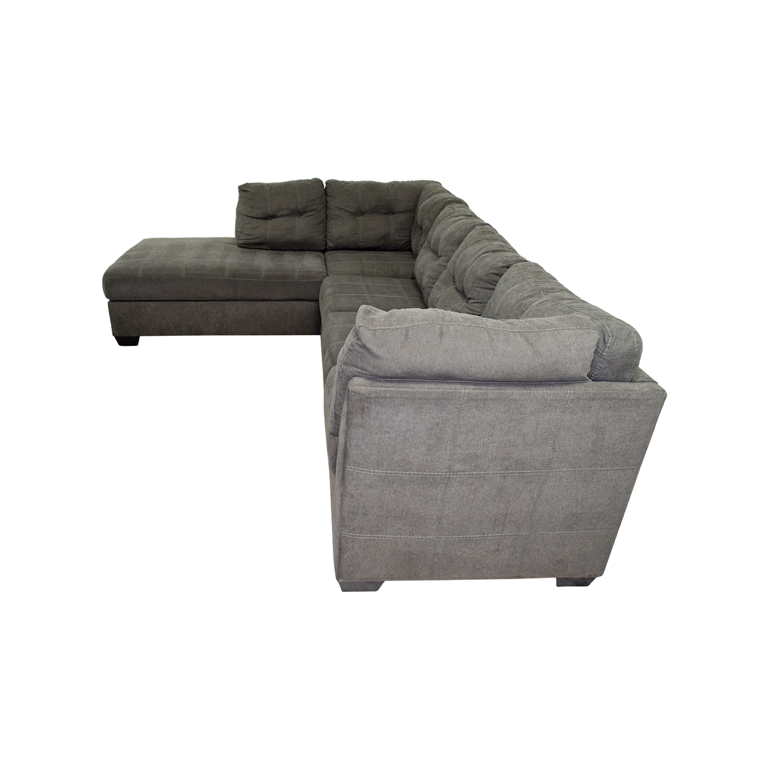 Mercury Row Mercury Row Cornett Charcoal Sectional Grey