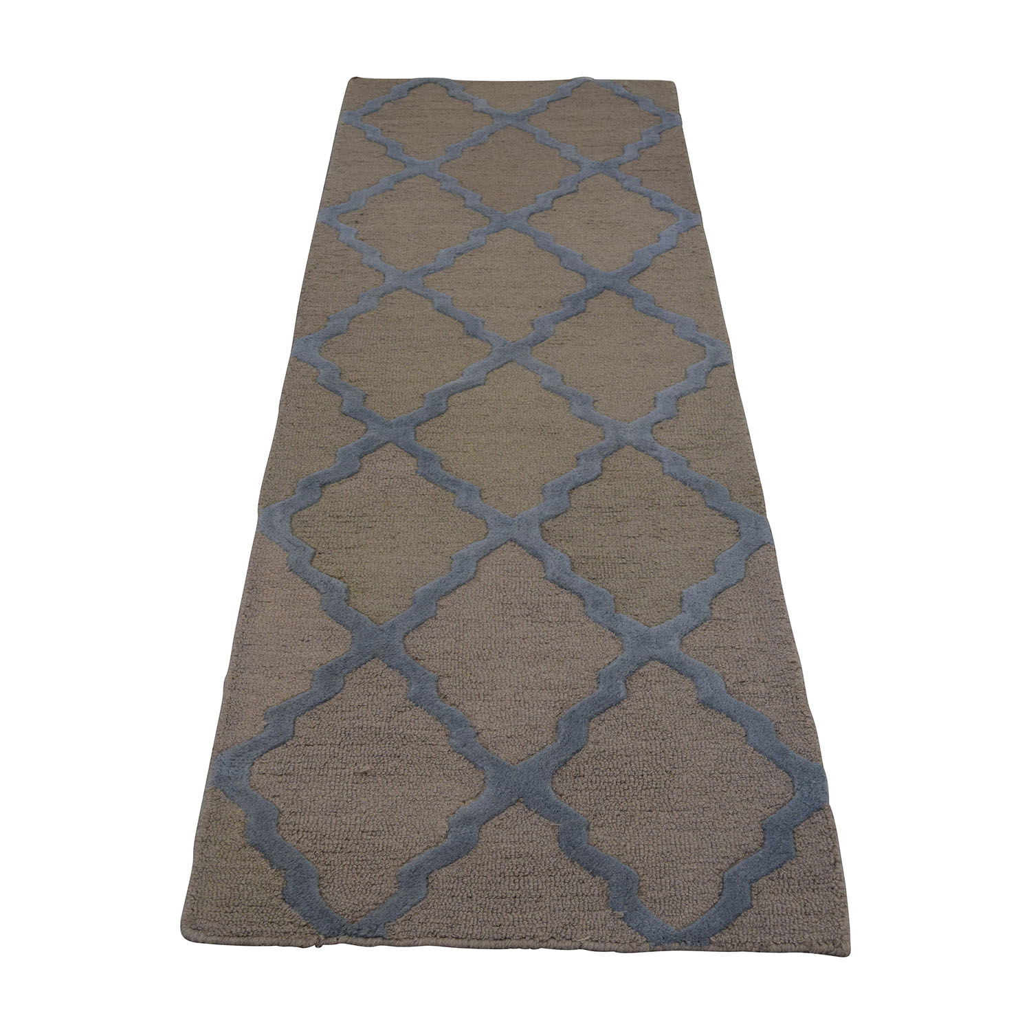 Crate And Barrel Crate & Barrel Green Area Rug