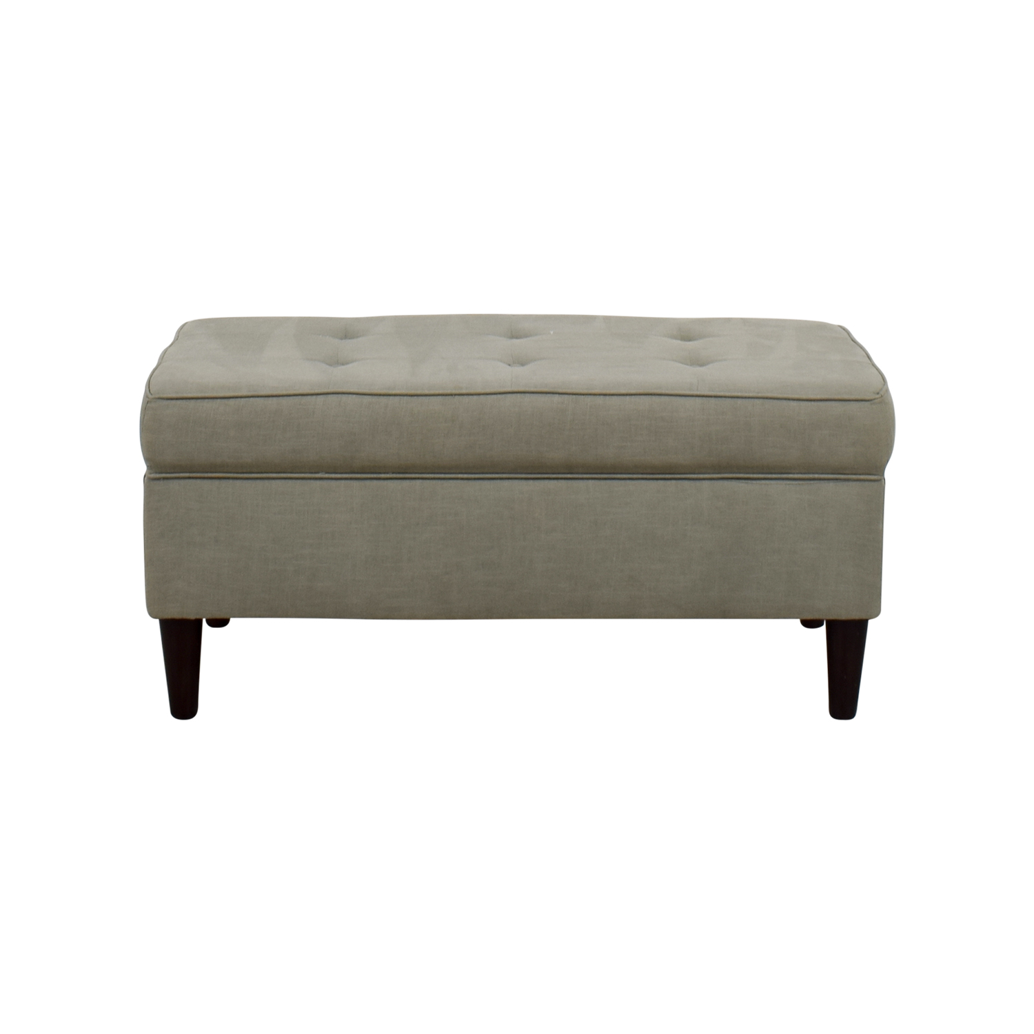Ottomans used ottomans for sale Gray storage bench