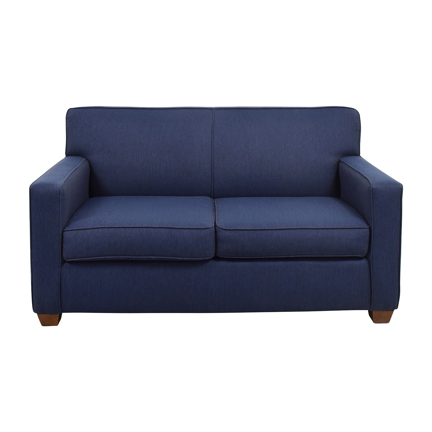 West Elm West Elm Blue Loveseat used