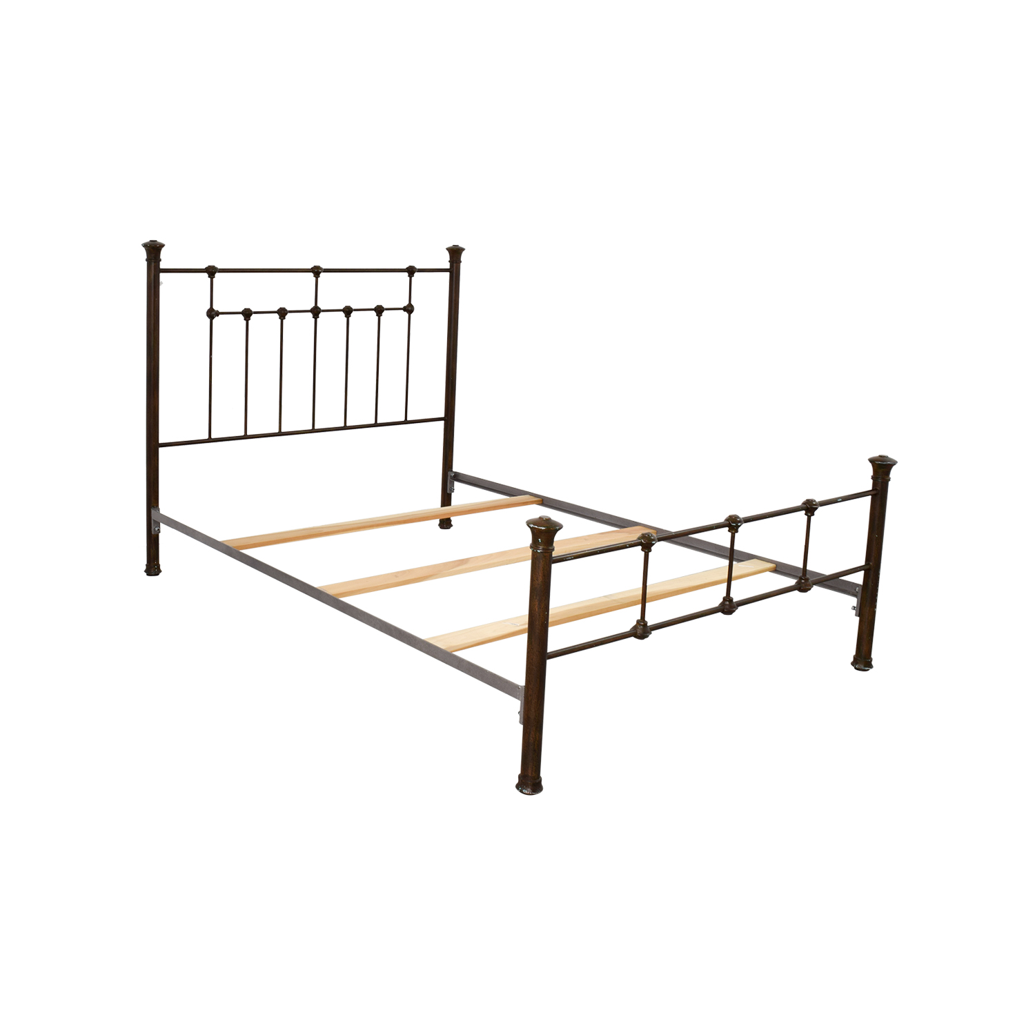 85 Off Pottery Barn Pottery Barn Queen Iron Bed Frame