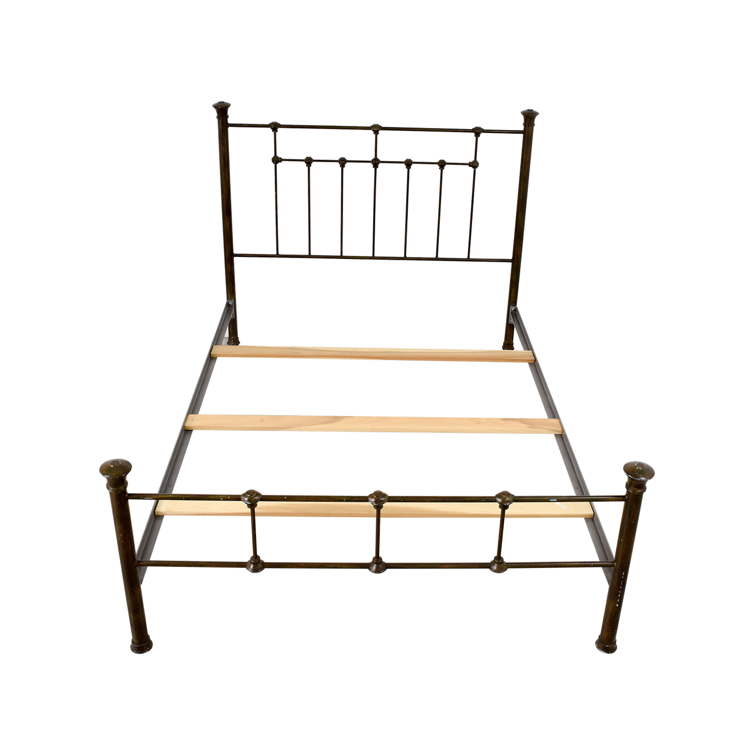 Pottery Barn Queen Iron Bed Frame / Bed Frames