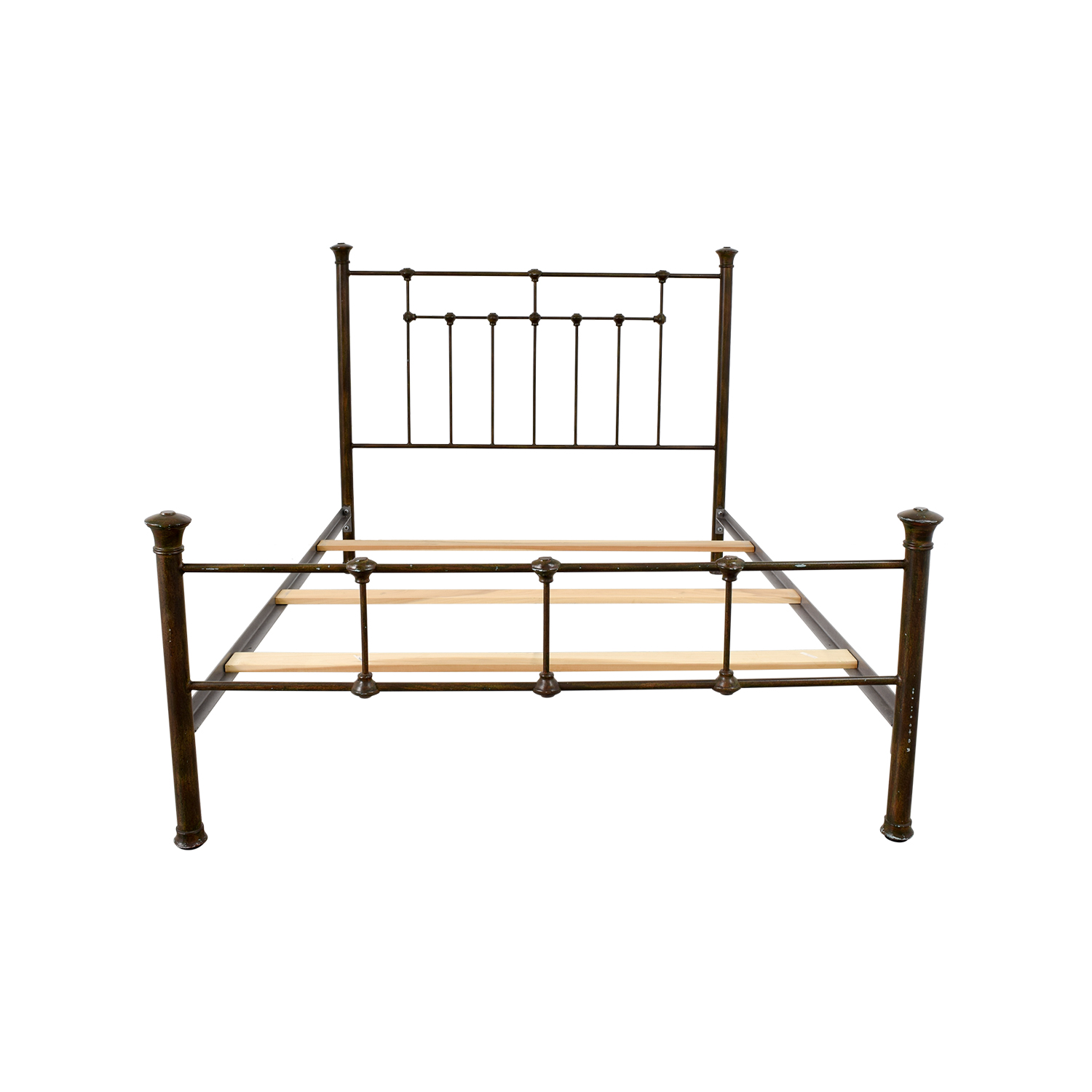shop Pottery Barn Pottery Barn Queen Iron Bed Frame online