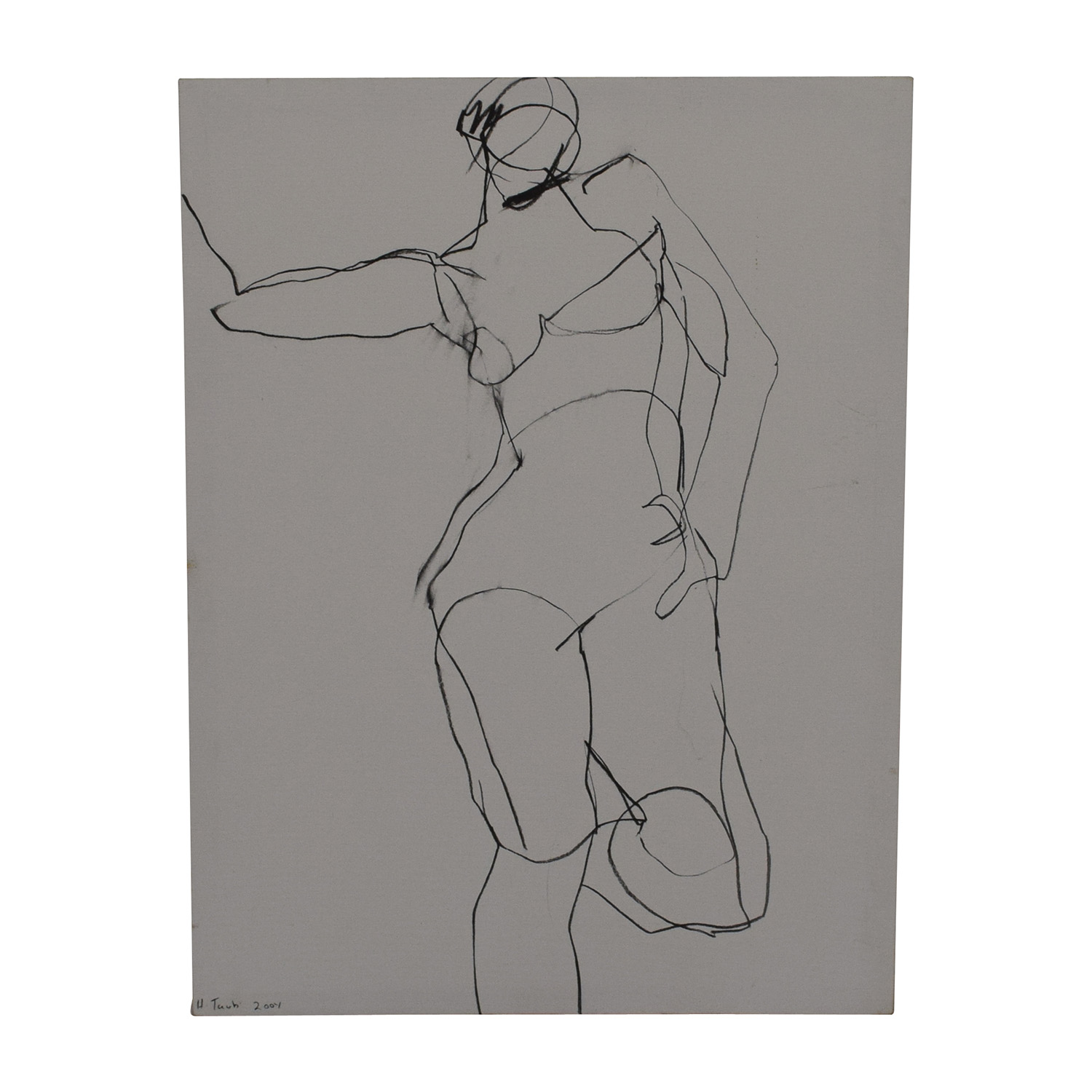 H. Taub Life Drawing / Wall Art