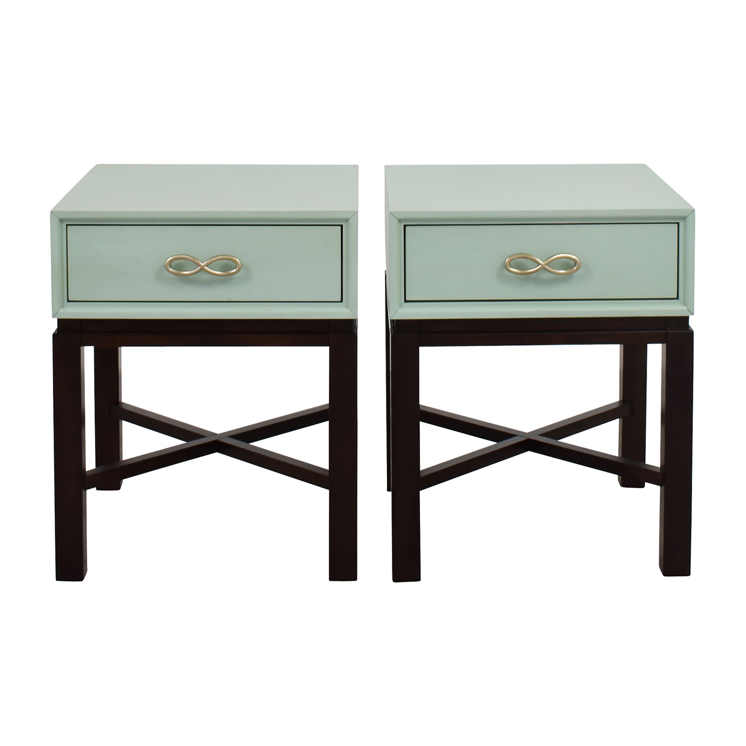 Lovely Chairside Green End Side Tables On Sale ...