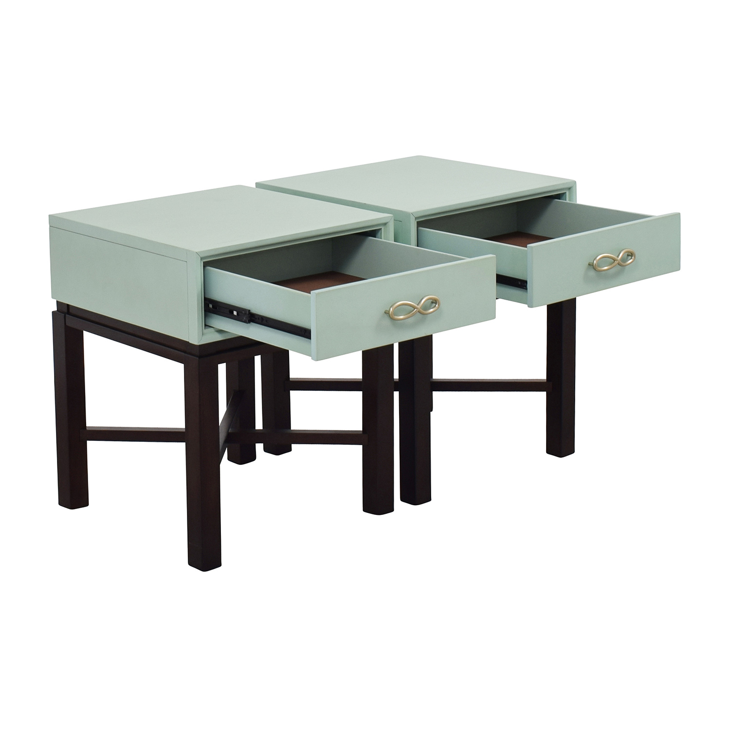 off  chairside green end side tables  tables -  chairside green end side tables