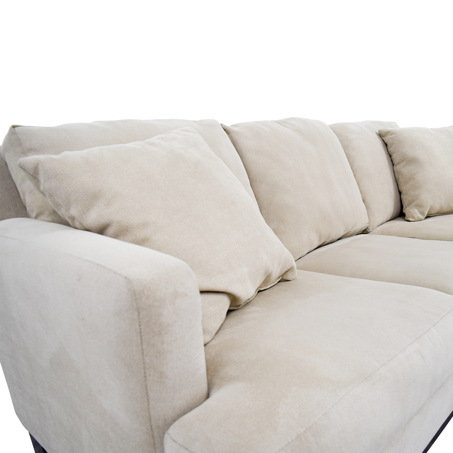 87 off raymour flanigan raymour flanigan beige for Couch beige