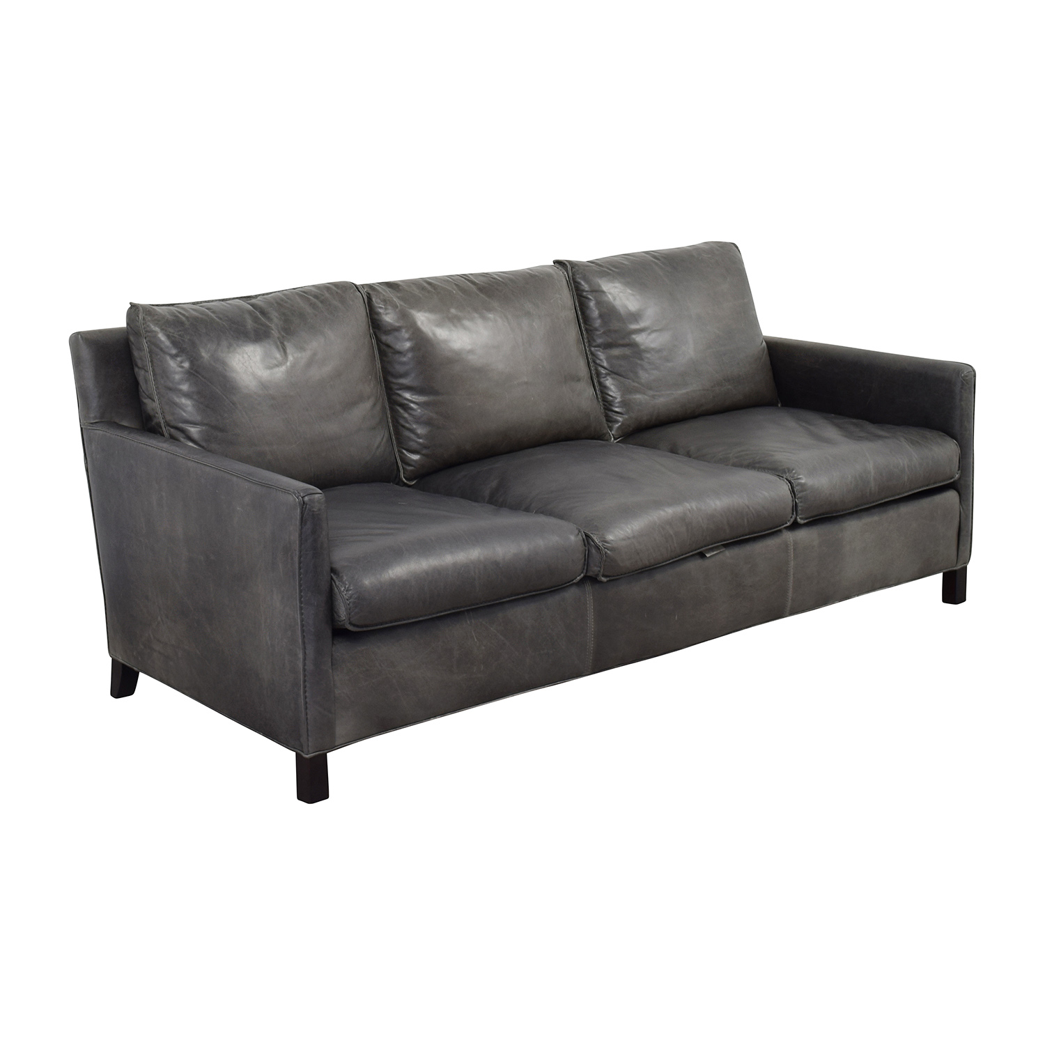 Room & Board Room & Board Bram Leather Sofa / Sofas