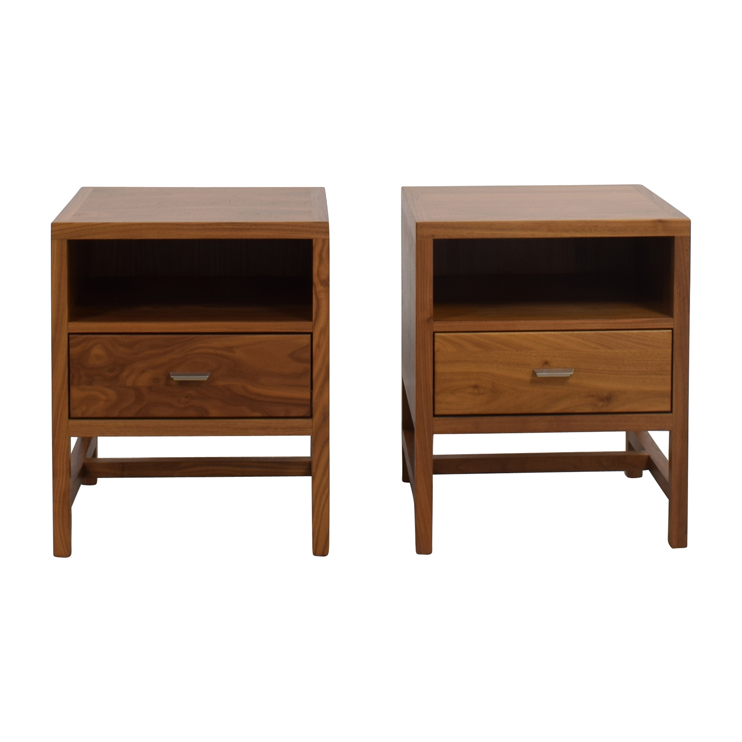 Room & Board Room & Board Berkeley Walnut Nightstands End Tables