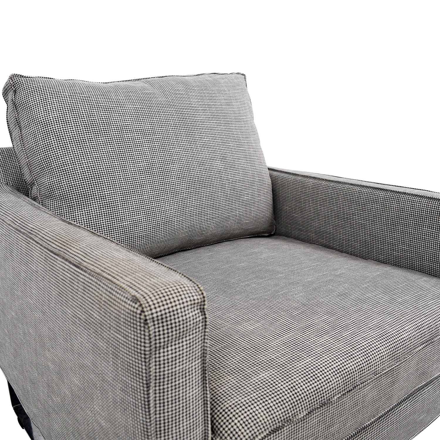 Surprising 69 Off Ikea Ikea Mellby Dogtooth Accent Chair Chairs Evergreenethics Interior Chair Design Evergreenethicsorg