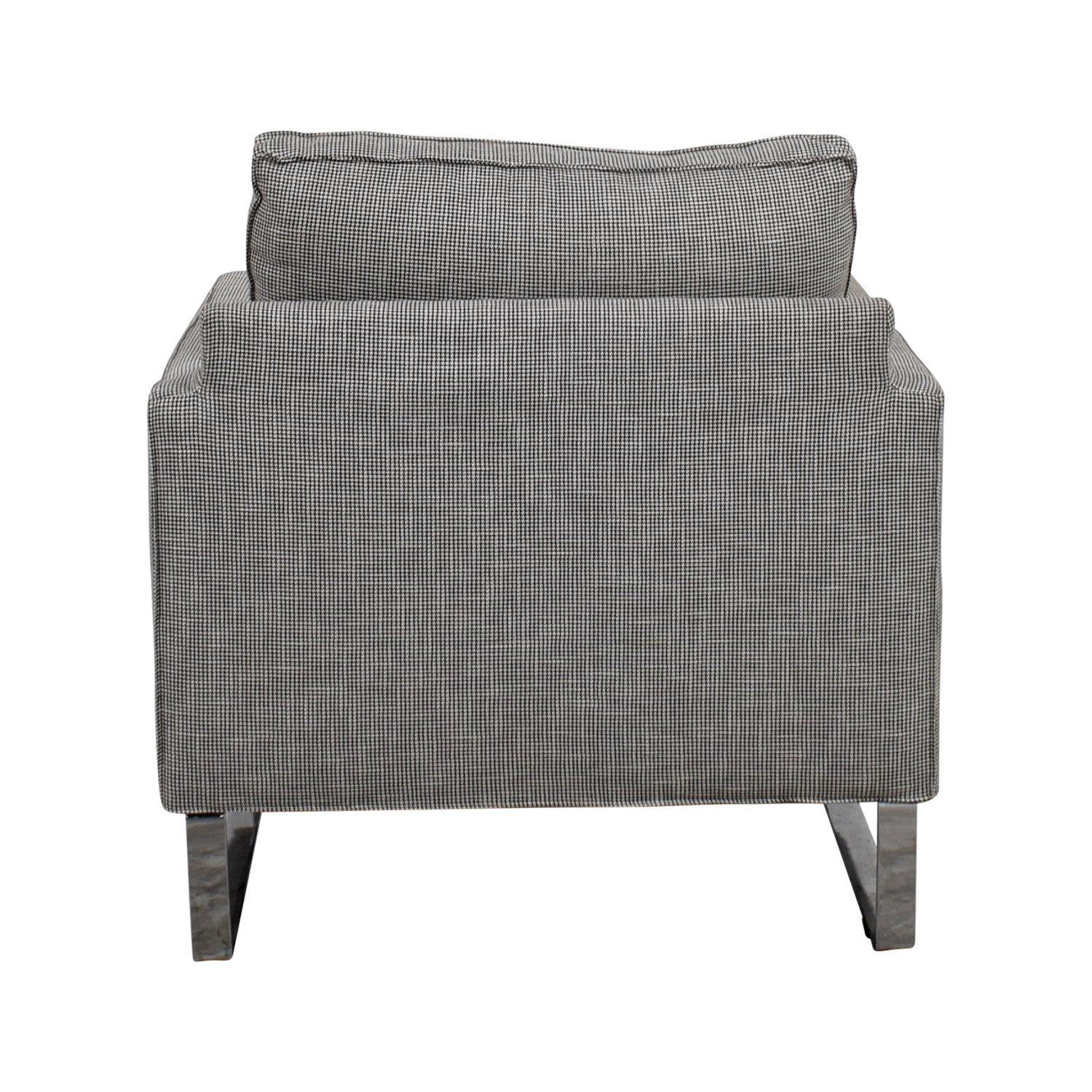 IKEA Mellby Dogtooth Accent Chair IKEA