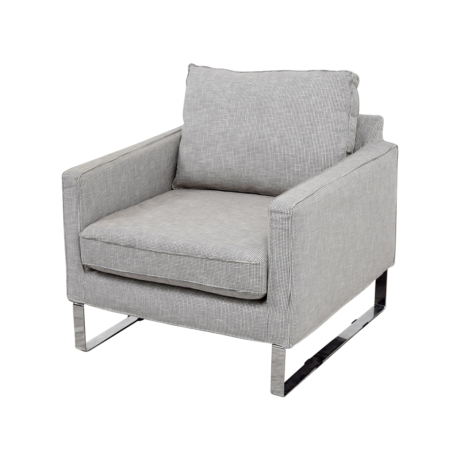 Incredible 69 Off Ikea Ikea Mellby Dogtooth Accent Chair Chairs Beutiful Home Inspiration Cosmmahrainfo