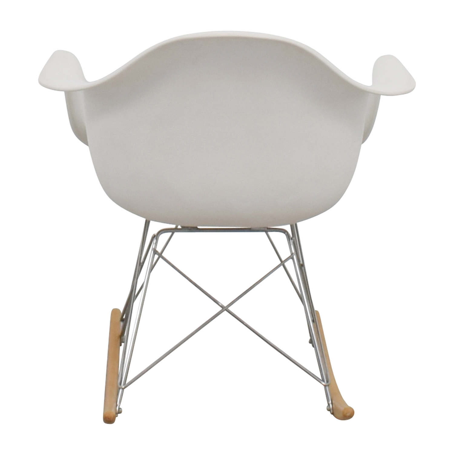 Modern White Rocking Chair on sale