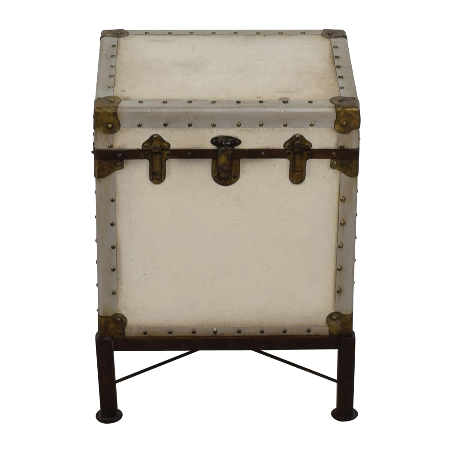 White Bedside Table Chest / Trunks