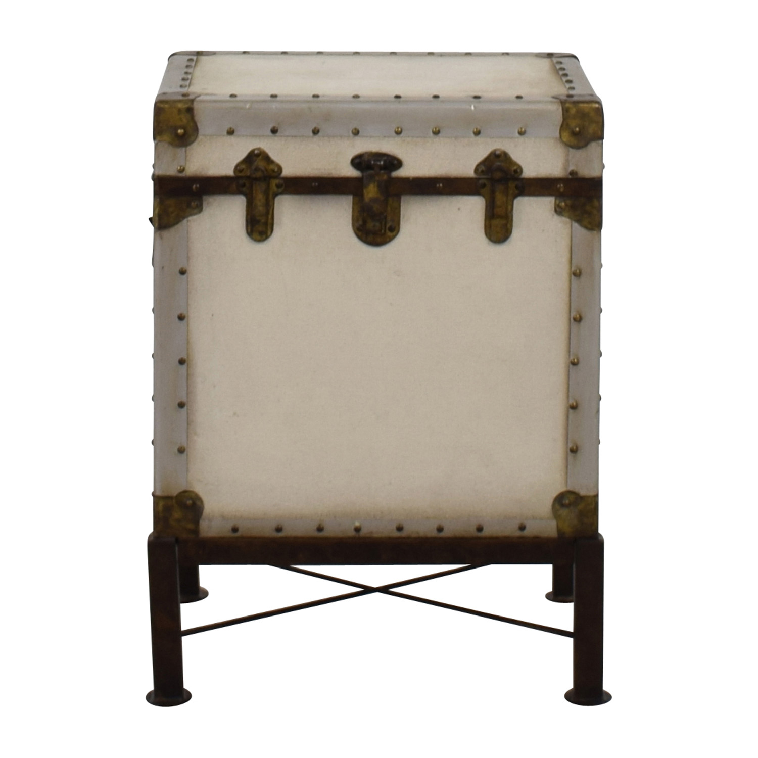 White Bedside Table Chest End Tables