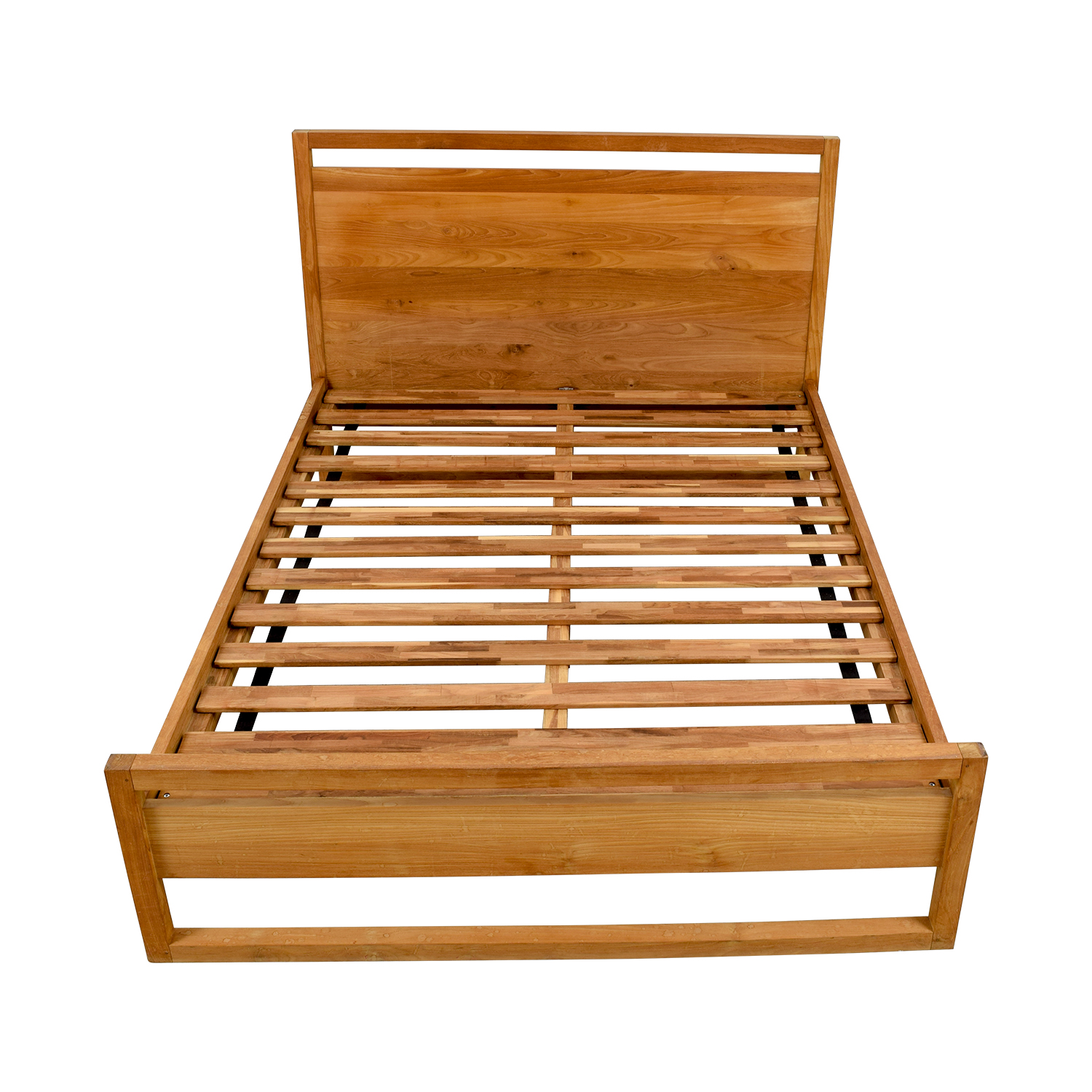 buy Crate and Barrel Linea Platform Queen Bed Crate and Barrel Bed Frames