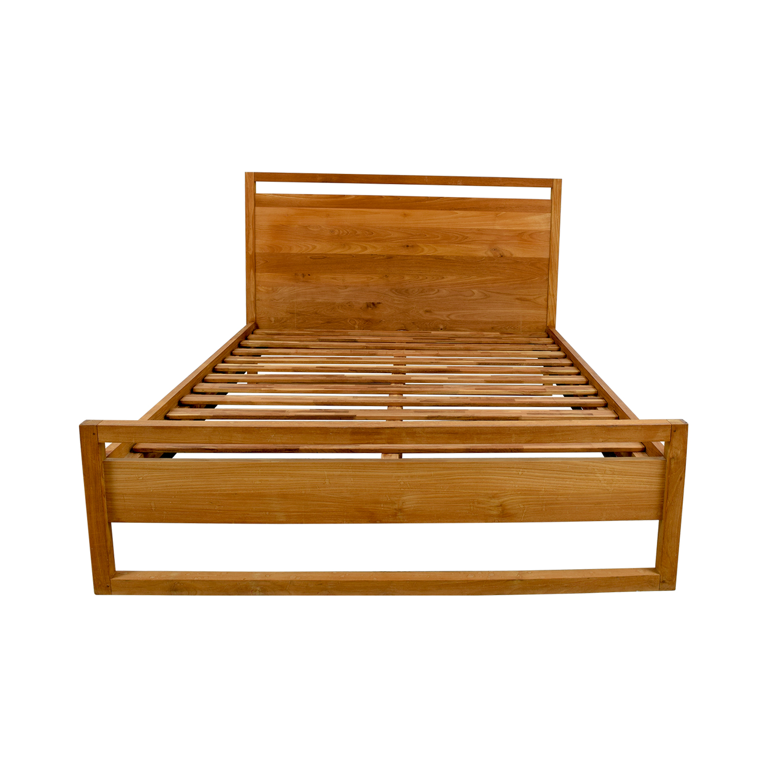 Crate and Barrel Crate and Barrel Linea Platform Queen Bed nj