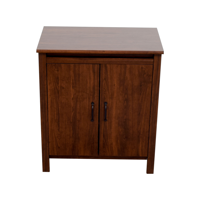 Ikea Cabinet Sale: IKEA IKEA Brusali Cabinet With Doors / Storage