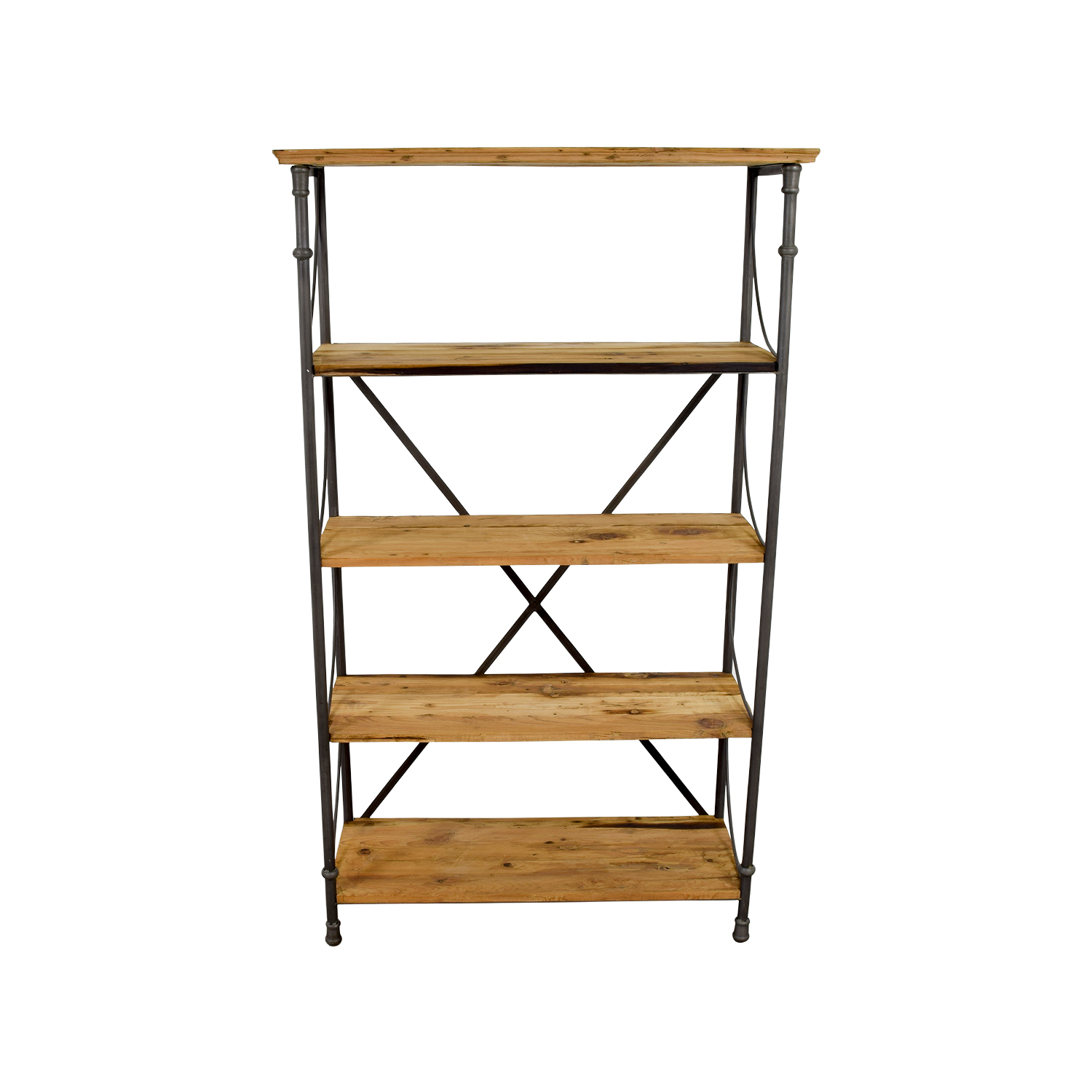 Shop Hudson Goods Reclaimed Wood Bookcase Hudson Goods Bookcases &  Shelving