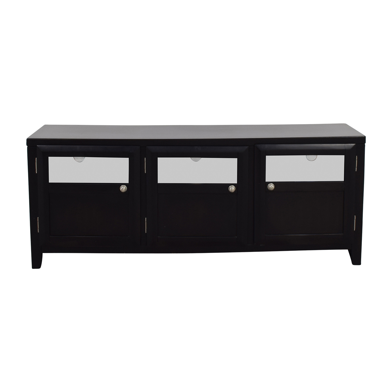 Target Wood & Glass TV Stand sale