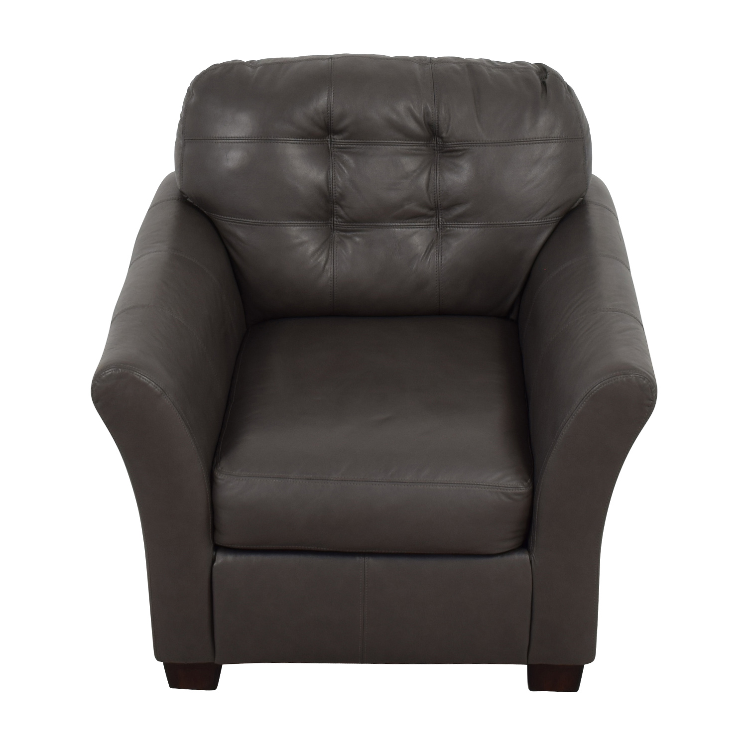 Ashley Furniture Ashley Furniture Gray Leather Chair nyc