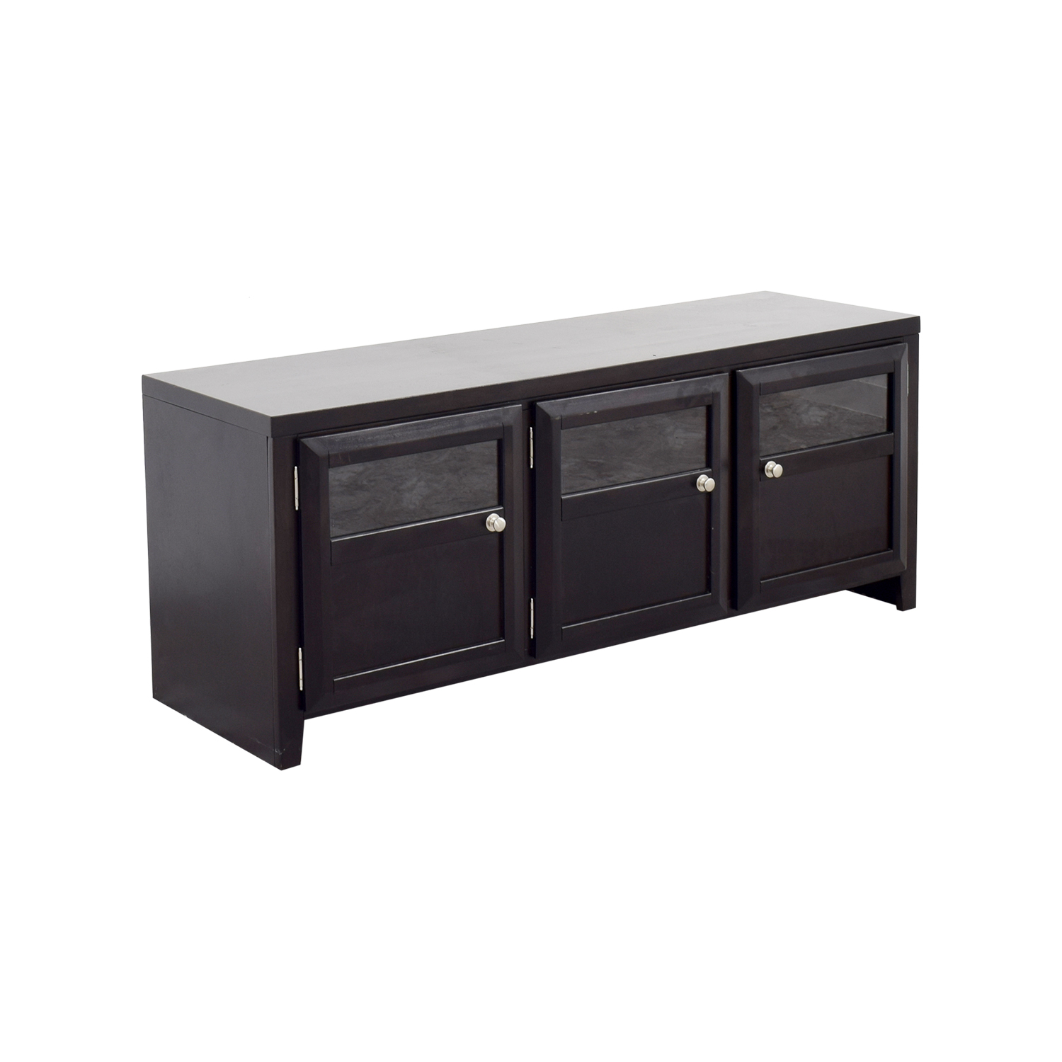 90 Off Ashley Furniture Ashley Furniture Wood Media Console Storage