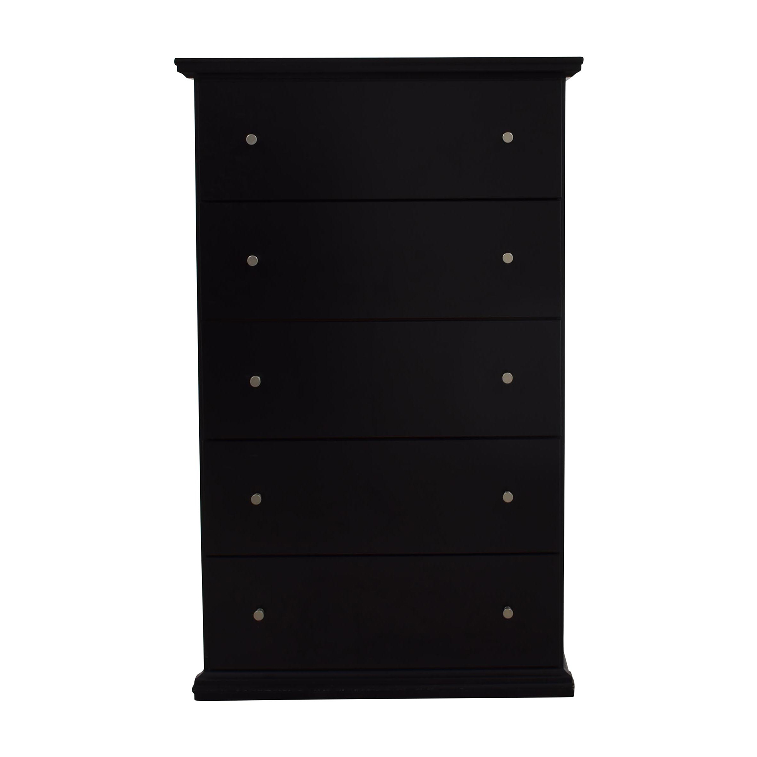 shop Ashley Furniture Tall Boy Five-Drawer Chest Ashley Furniture Dressers