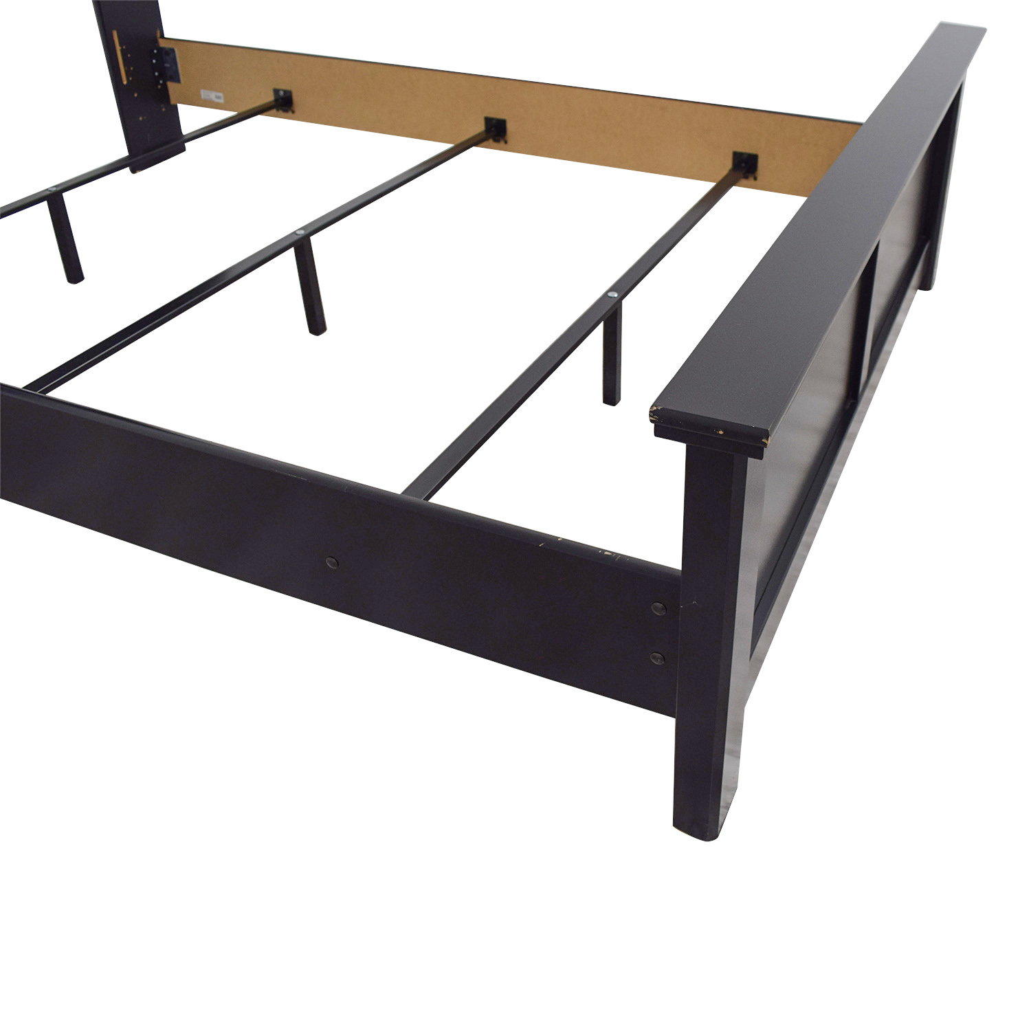 87 Off Ashley Furniture Ashley Furniture Black Queen Panel Bed Beds