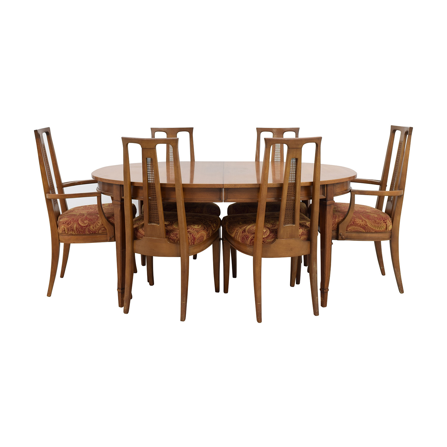 buy Mid-Century Oval Dining Set online