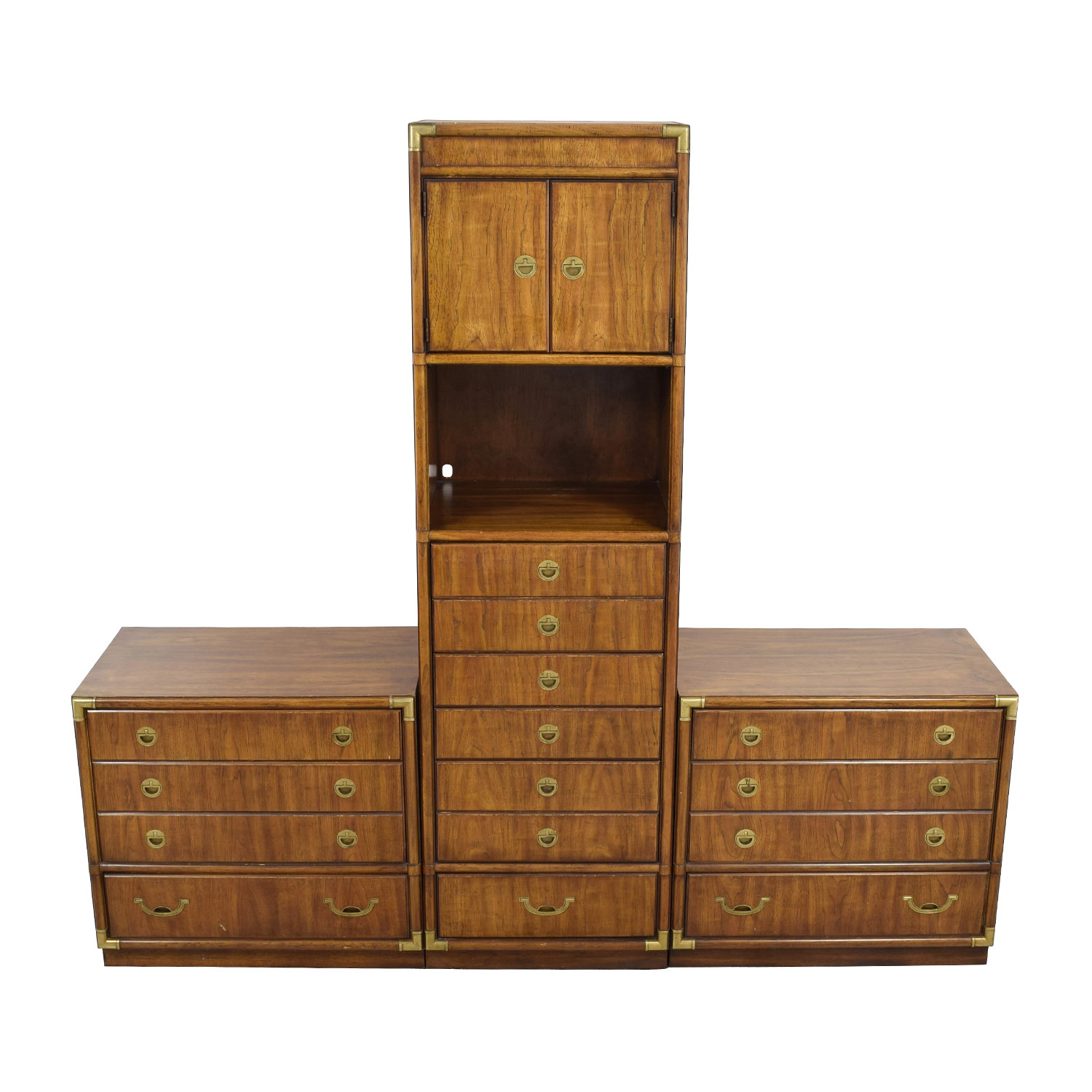 Drexel Drexel Three Piece Dresser Cabinet Set used